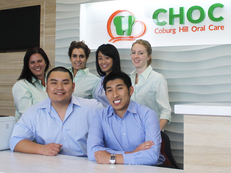 Coburg dentist and dental team